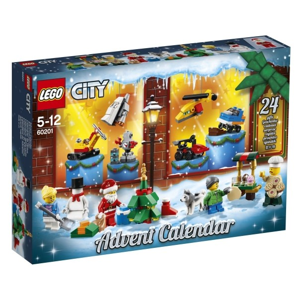 LEGO® City 60201 Adventskalender, Sept. 2018, 313 Teile