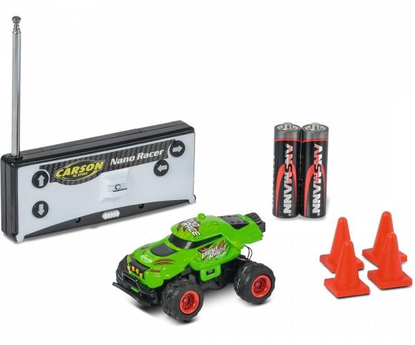 CARSON 500404185 1:60 Nano Racer Dino-Race 40 MHz 100% RTR