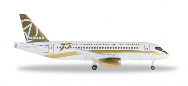 "HERPA 529310 Center South Airlines Sukhoi Superjet 100 ""Sukhoi 75th Anniversary"""