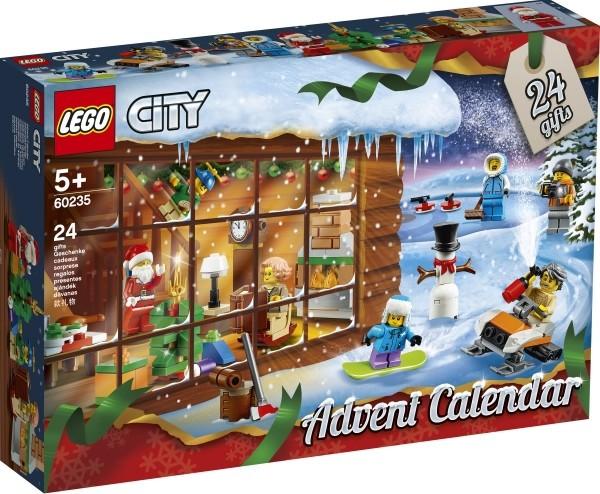 LEGO® 60235 City, LEGO® Adventskalender 2019