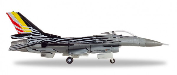 HERPA 558990 Belgian AF Solo Display Team Lockheed Martin F-16AM - FA-123