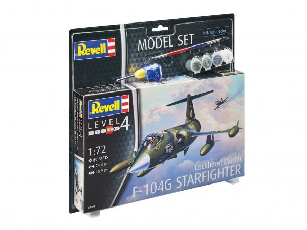 REVELL 63904 Model Set Lockheed Martin F-104G Starfighter