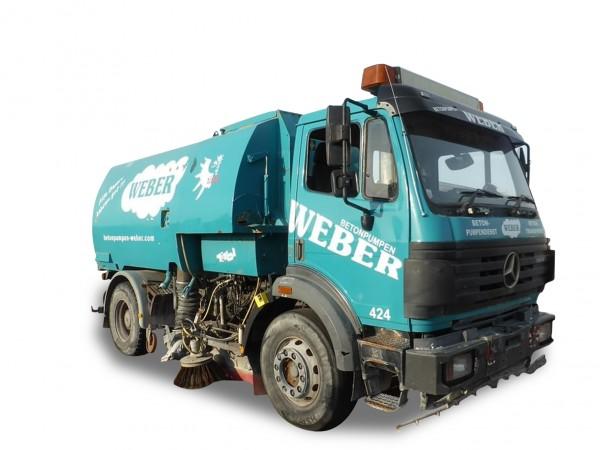 "HERPA 942768 Mercedes Benz SK`94 Kehrfahrzeug ""Betonpumpen Weber"""