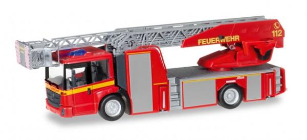 """HERPA 092777 Mercedes-Benz Econic Metz Drehleiter L32 XS """"Feuerwehr"""""""