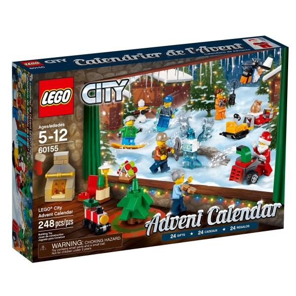 LEGO® City 60155 Adventskalender 2017