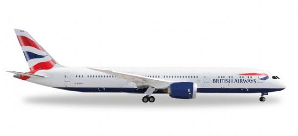 HERPA 528948 British Airways Boeing 787-9 Dreamliner