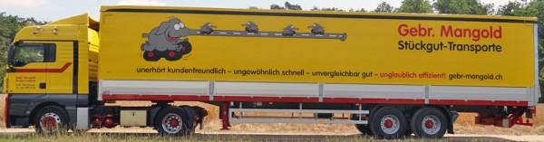 HERPA 915816 MAN TGX XLX Sattelzug Mangold (CH)
