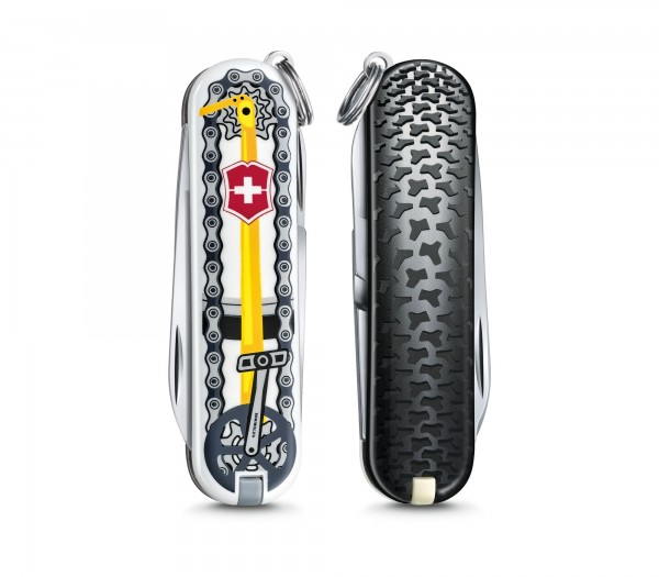"VICTORINOX 0.6223.L2001 Classic, 58 mm ""Bike Ride"" Limited Edition 2020"