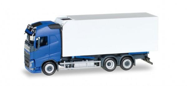 HERPA 307079 Volvo FH Gl. Kühlkoffer-LKW, blau/weiß