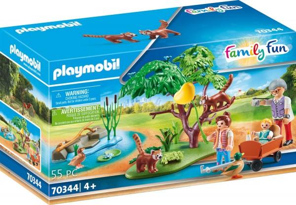 PLAYMOBIL® 70344 Kleine Pandas im Freigehege