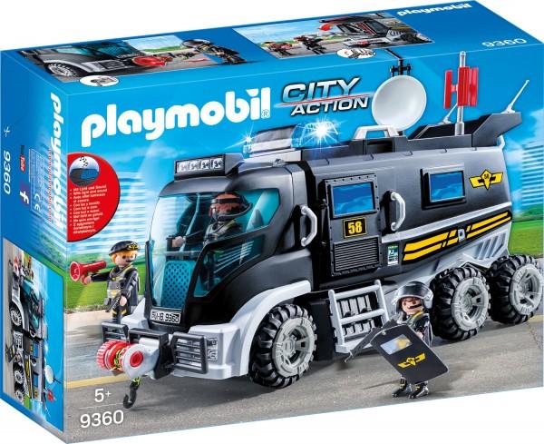 PLAYMOBIL® 9360 SEK-Truck mit Licht und Sound