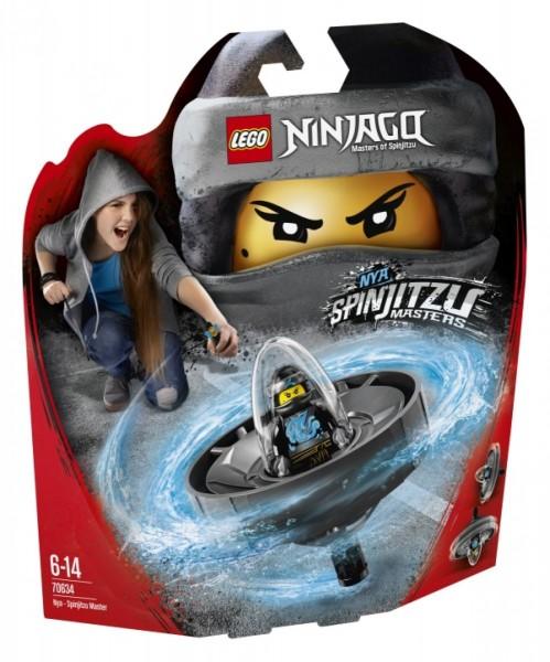 THE LEGO® NINJAGO® Movie™ 70634 Spinjitzu-Meisterin Nya, 69 Teile