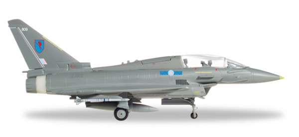 HERPA 580281 Royal Air Force Eurofighter Typhoon T3 - No 6 Squadron, RAF Lossiemouth - ZJ809
