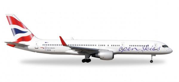 HERPA 530019 Boeing 757-200 OpenSkies (British Airways)