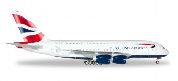 HERPA 556040-001 British Airways Airbus A380