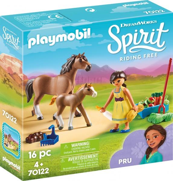 PLAYMOBIL® 70122 Pru mit Pferd und Fohlen