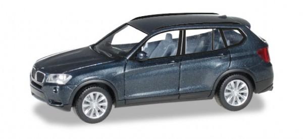 HERPA 034630-003 BMW X3™, saphirschwarz metallic