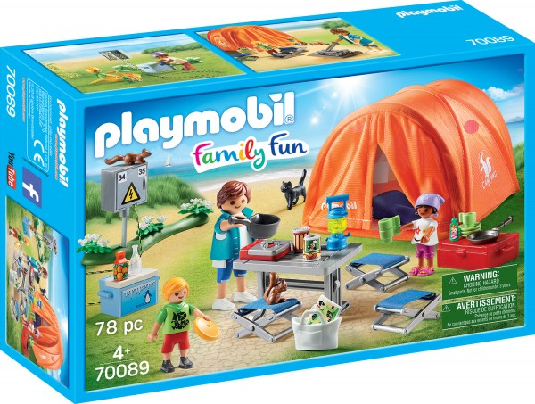 PLAYMOBIL® 70089 Familien-Camping