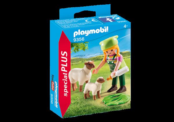 PLAYMOBIL® 9356 Bäuerin mit Schäfchen