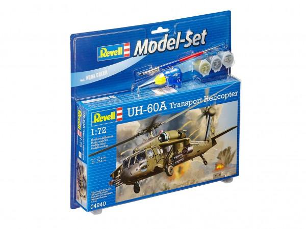 REVELL 64940 Model Set UH-60A Transport Heli