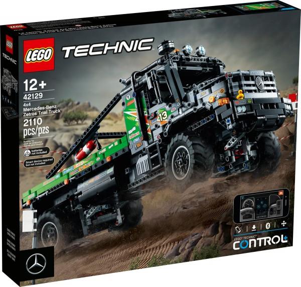 LEGO®, 4X4 MERCEDES-BENZ ZETROS OFFROAD-TRUCK, TECHNIC, 2108 TEILE, 42129