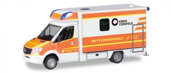 """HERPA 093675 Mercedes-Benz Sprinter Fahrtec RTW """"Rettungsdienst Dülmen"""""""