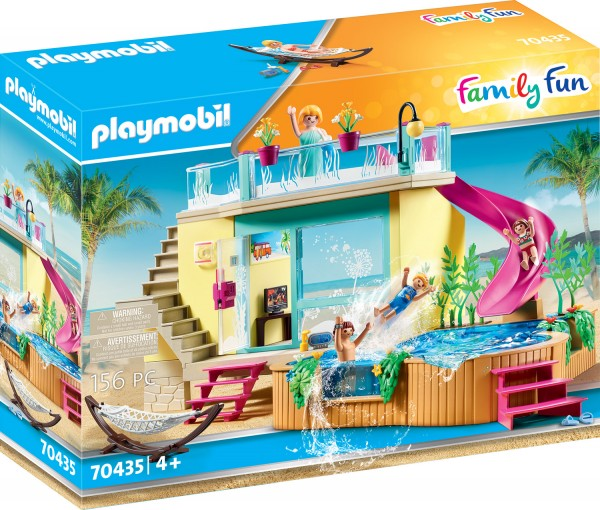 PLAYMOBIL® 70435 Bungalow mit Pool