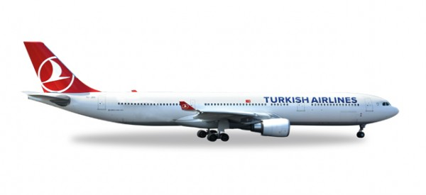 "HERPA 529556 Turkish Airlines Airbus A330-300 ""EM 2016"""