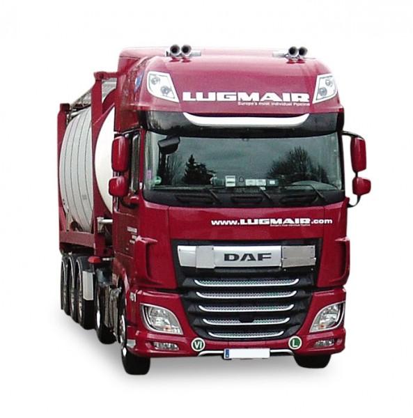 "HERPA 932240 DAF XF SC Swapcontainer-Sattelzug ""Lugmair"""