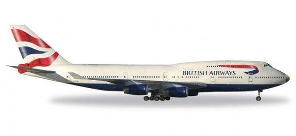 """HERPA 512497-003 British Airways Boeing 747-400 """"victoRIOus"""""""