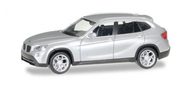 HERPA 034340-003 BMW X 1 (E84), glaciersilber metallic