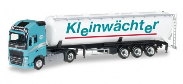 """HERPA 307086 Volvo FH Gl. XL Silo-Sattelzug """"Kleinwächter"""""""
