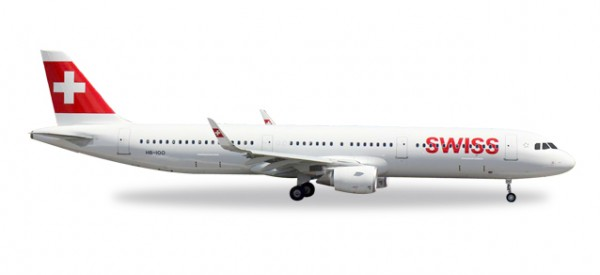 HERPA 529471 Swiss International Airlines Airbus A321