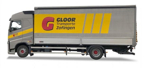 Herpa 937726 Volvo FH Globetrotter Planen-LKW - Gloor