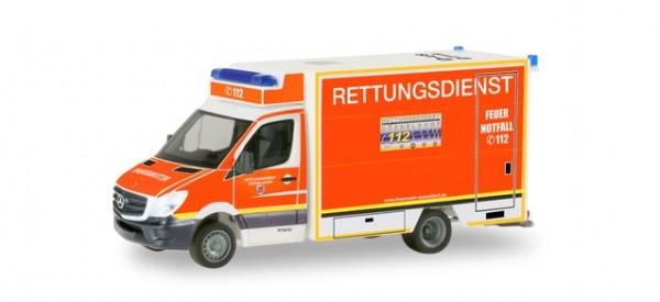 HERPA 094627 Mercedes-Benz Sprinter Fahrtec-RTW Feuerwehr Düsseldorf