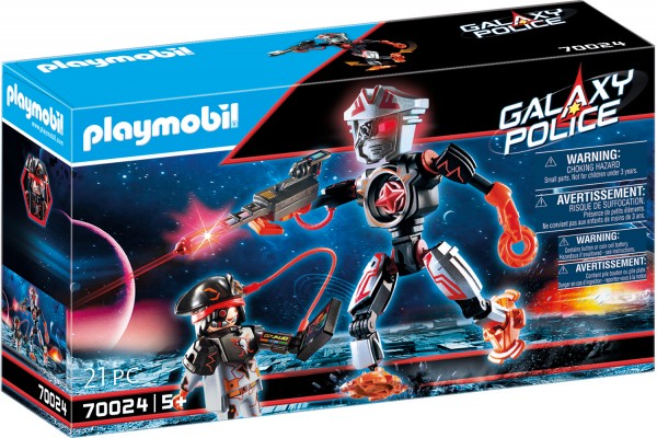 PLAYMOBIL® 70024 Space Pirates-Roboter