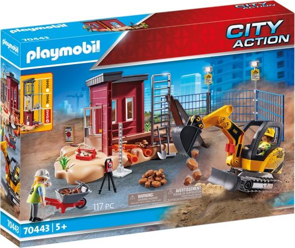 PLAYMOBIL® 70443 Minibagger mit Bauteil