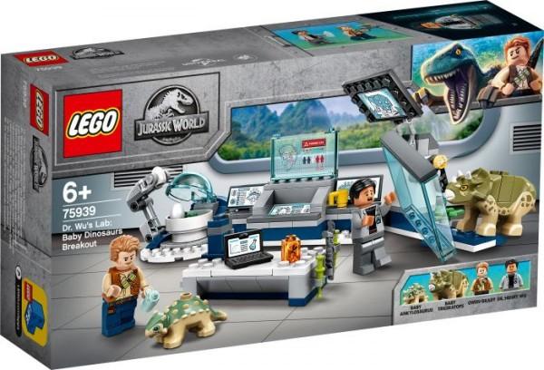 LEGO® Jurassic World# 75939 Dr. Wus Labor: Ausbruch der Baby-Dinosaurier