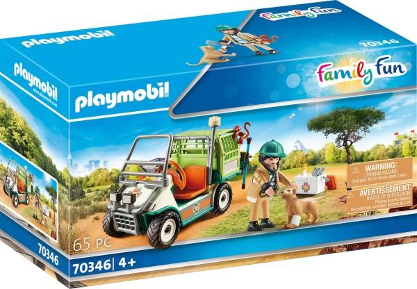 PLAYMOBIL® 70346 Zoo-Tierarzt mit Fahrzeug