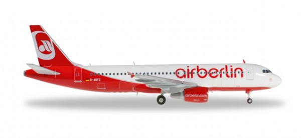 Herpa 557412 airberlin Airbus A320