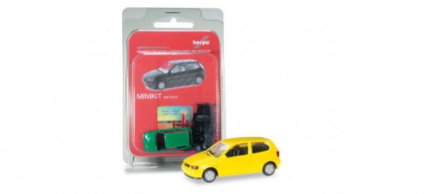 HERPA 012140-004 Herpa MiniKit: VW Polo 2-türig, verkehrsgelb