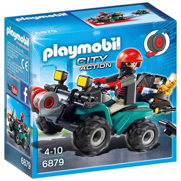 PLAYMOBIL® 6879 Ganoven-Quad mit Seilwinde