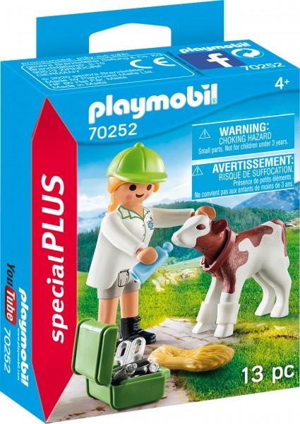 PLAYMOBIL® 70252 Tierärztin mit Kälbchen