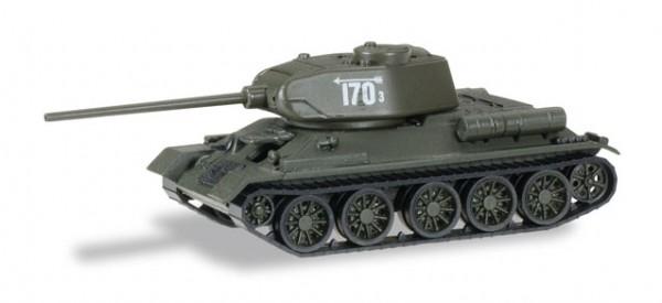 "HERPA 745727 Kampfpanzer T34/85 4. Garde Panzerarmee ""Schlacht um Berlin"""