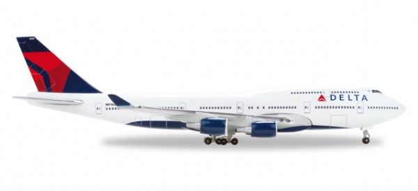 HERPA 506915-002 Delta Air Lines Boeing 747-400