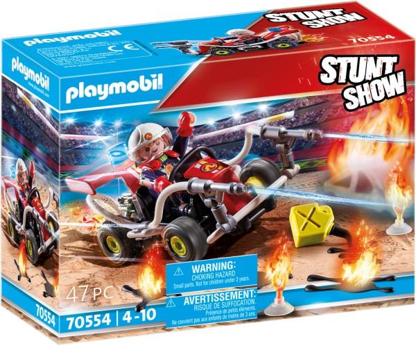 PLAYMOBIL® 70554 Stuntshow Feuerwehrkart