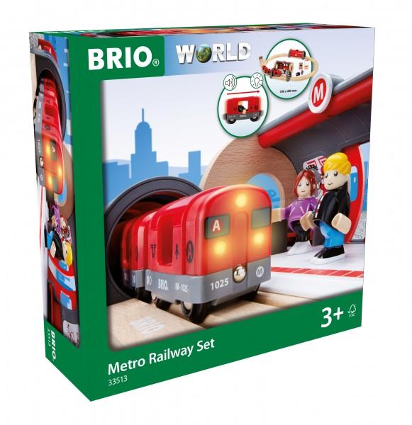BRIO 33513 BRIO Metro Bahn - Set