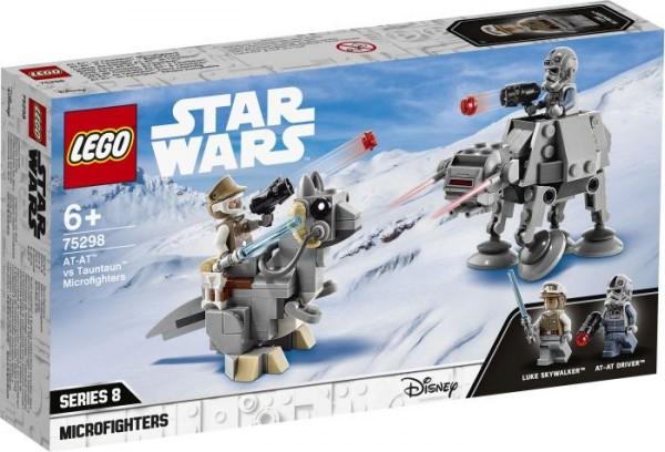 LEGO® Star Wars# 75298 AT-AT# vs Tauntaun# Microfighters