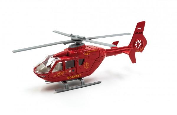 Hubschrauber Heli 1 rot