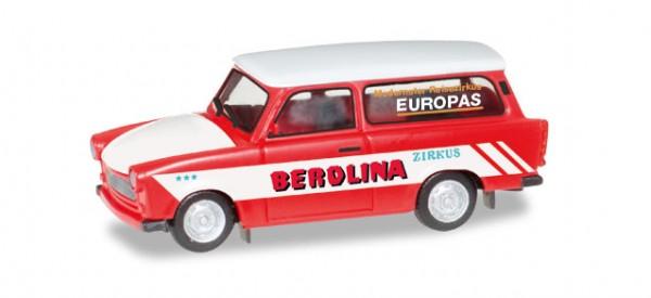 "HERPA 092739 Trabant 601 Universal ""Zirkus Berolina"""